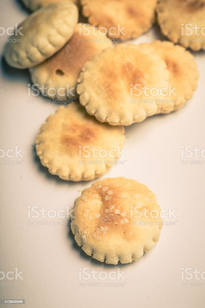Oyster Crackers stock photo