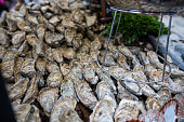 Oysters at the market in Paris