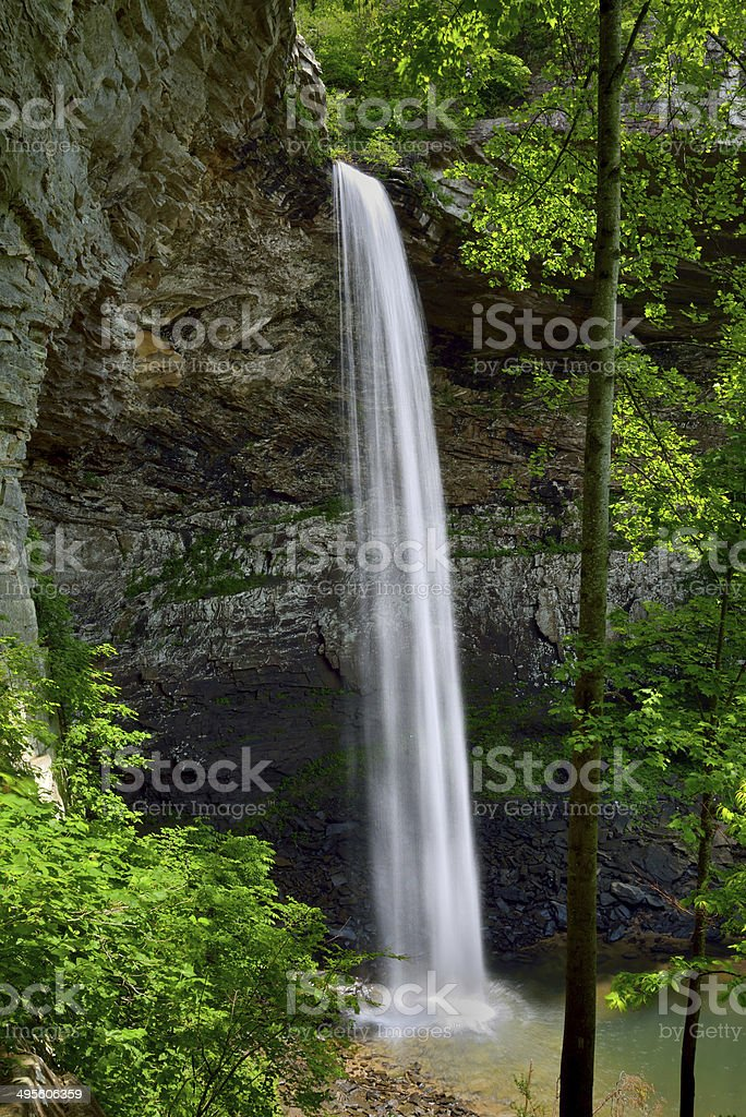 Ozone Falls in Westel, TN USA stock photo