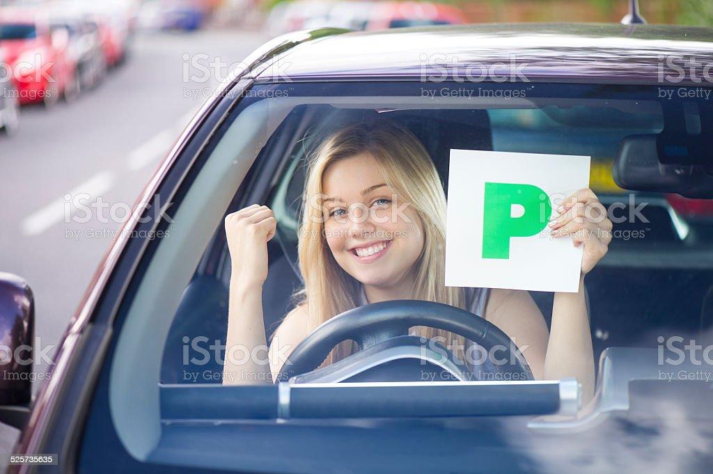 p plates stock photo