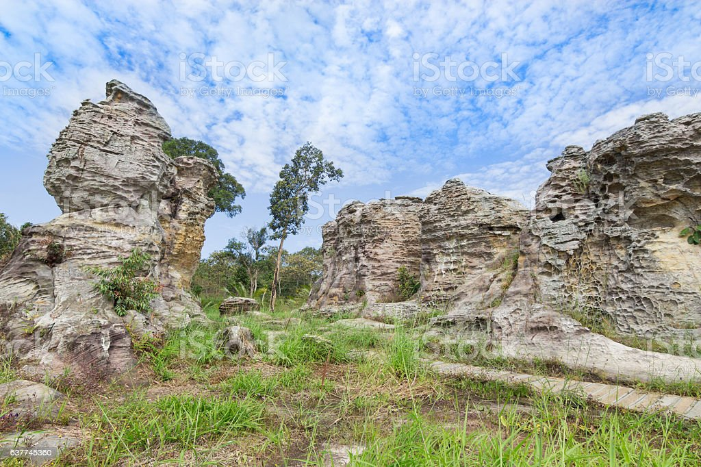 Pa Hin Ngam National Park stock photo