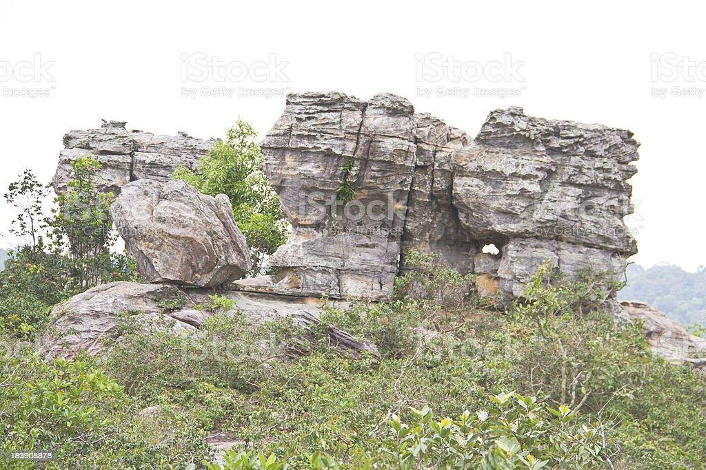 Pa Hin Ngam National Park,Thailand royalty-free stock photo