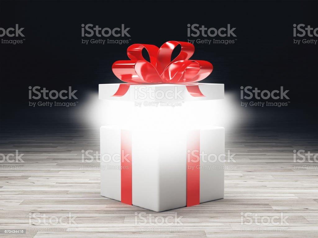 Pacco regalo compelanno stock photo