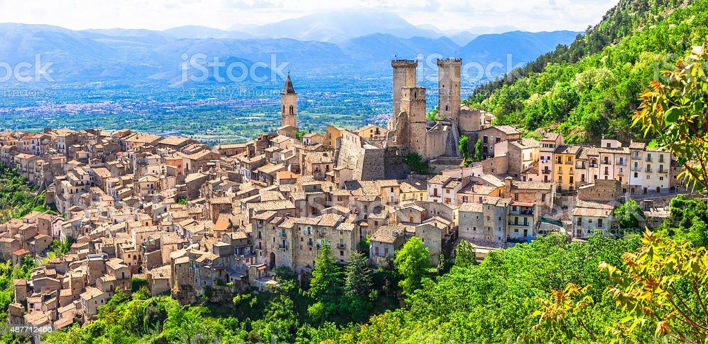 Pacentro, Abruzzo, Włochy. – zdjęcie