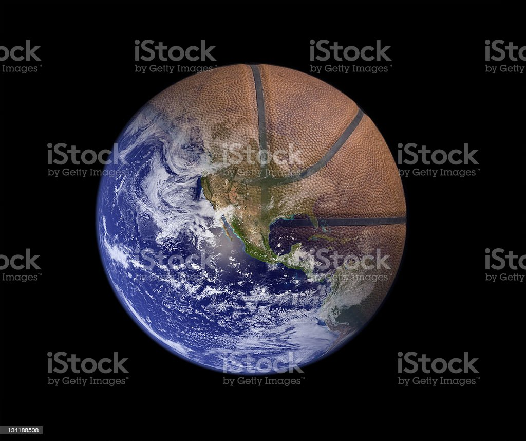 Pacific Basketball royalty-free stock photo