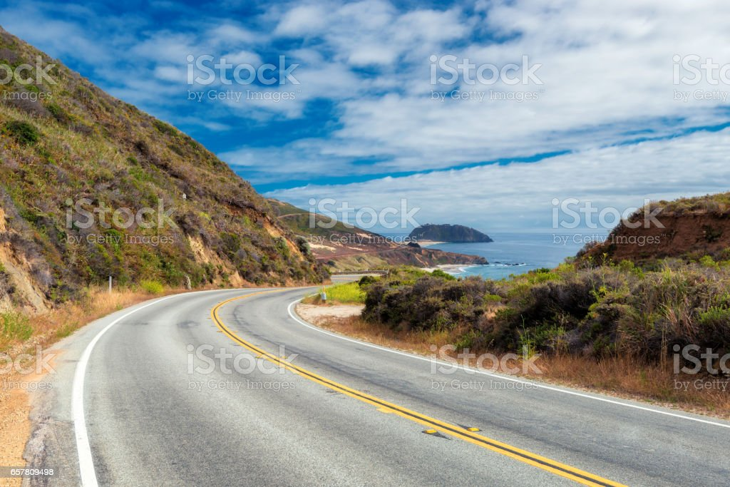 Pacific Coast Highway, Big Sur, California - foto de stock