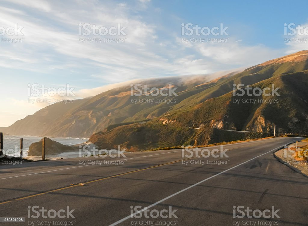 Pacific Coast Highway stock photo