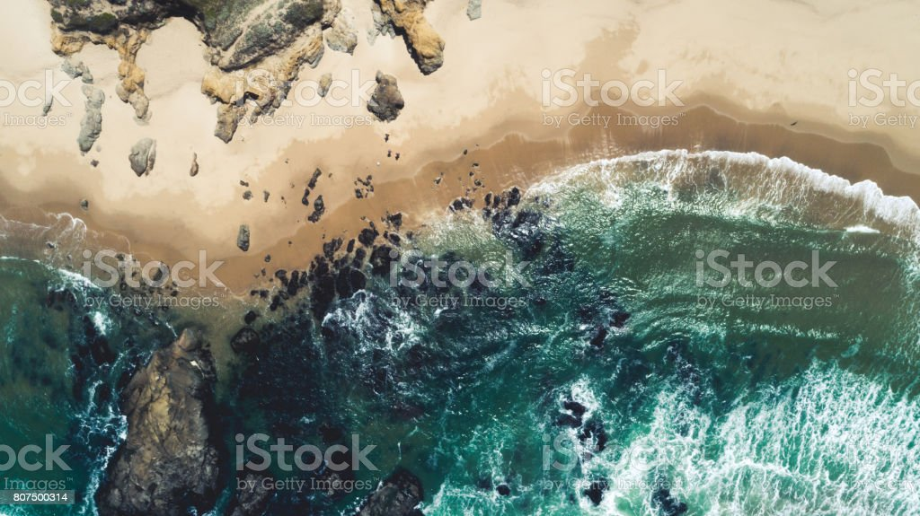 Pacific coast stock photo