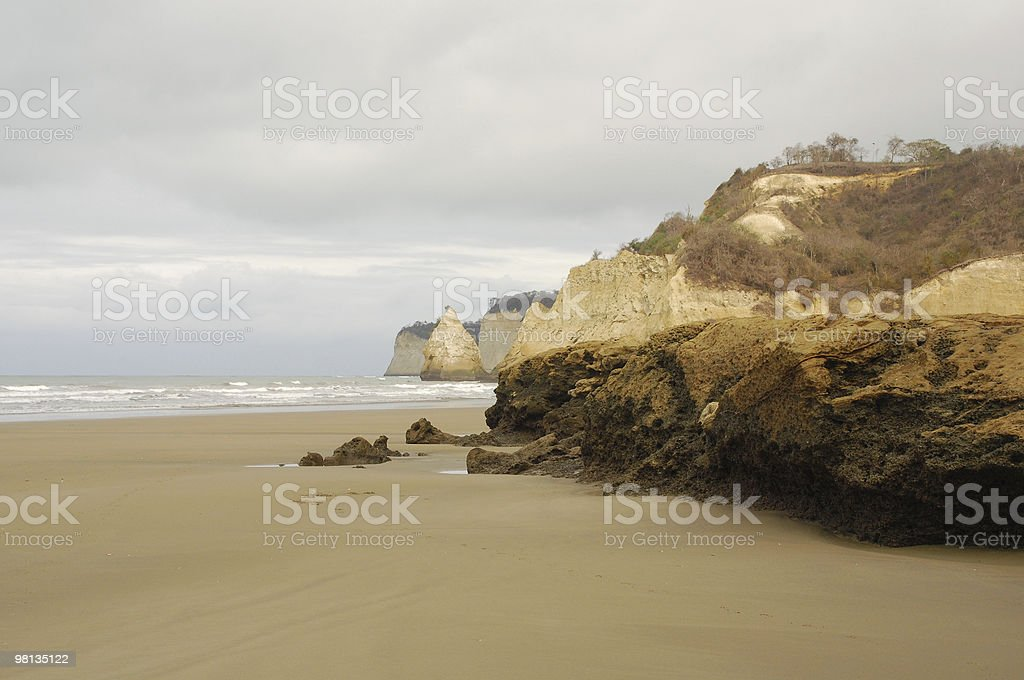 Pacific coast royalty-free stock photo