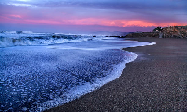 Pacific Coastline stock photo