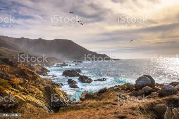 Photo of Pacific coastline scenery