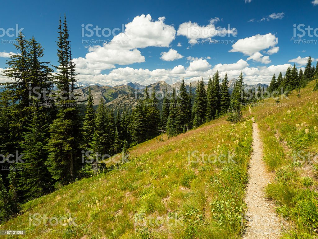 Pacific Crest Trail stock photo