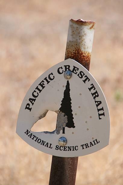 pacific crest trail - - pacific crest trail stock-fotos und bilder