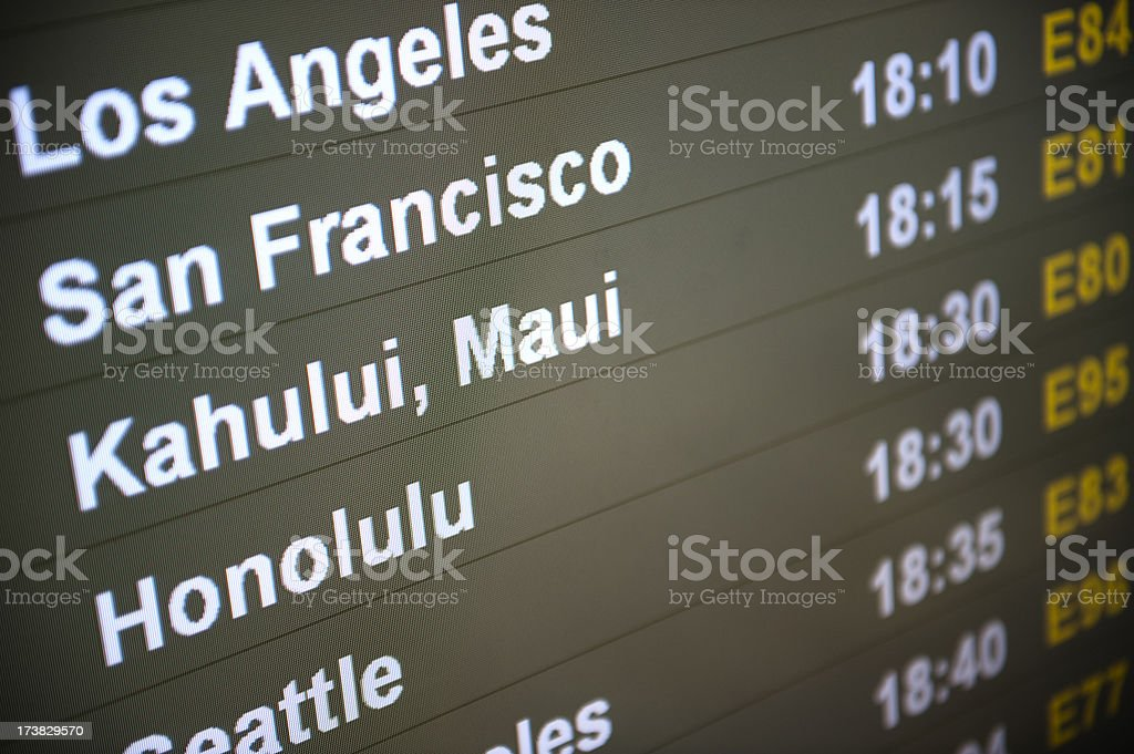 Pacific Destinations royalty-free stock photo