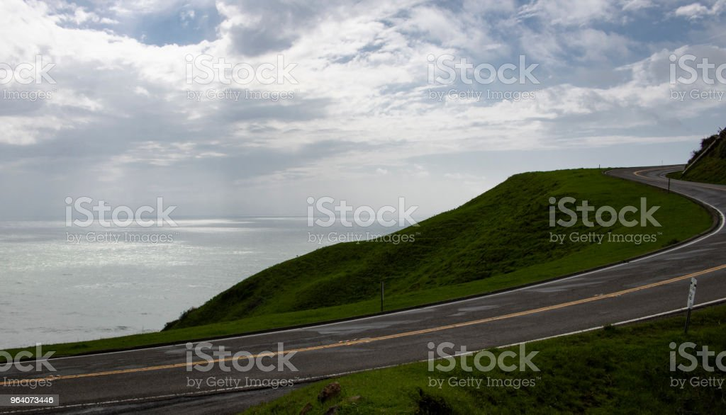 Pacific Highway 1 - Royalty-free California Stock Photo