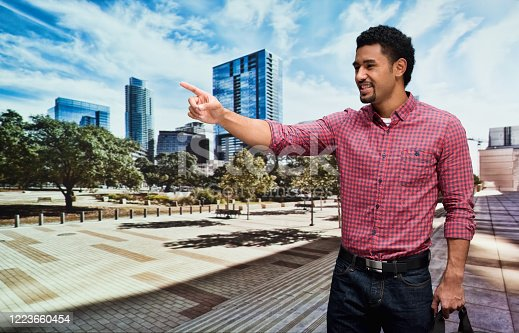 istock Pacific islander ethnicity young male who is outdoors wearing jeans 1223660454