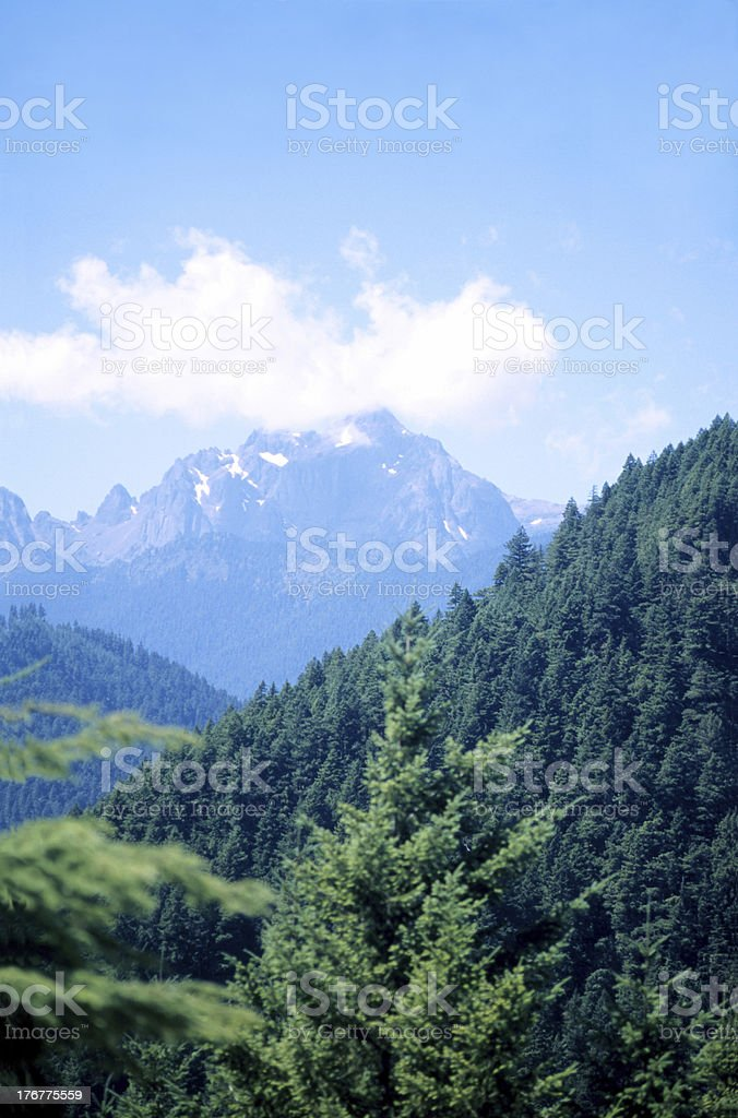 Pacific Northwest Mountains royalty-free stock photo