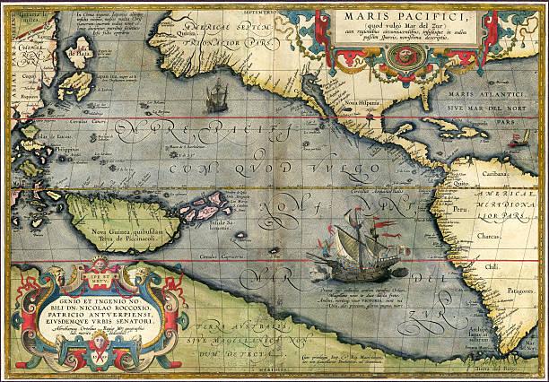 Pacific ocean 1589 stock photo