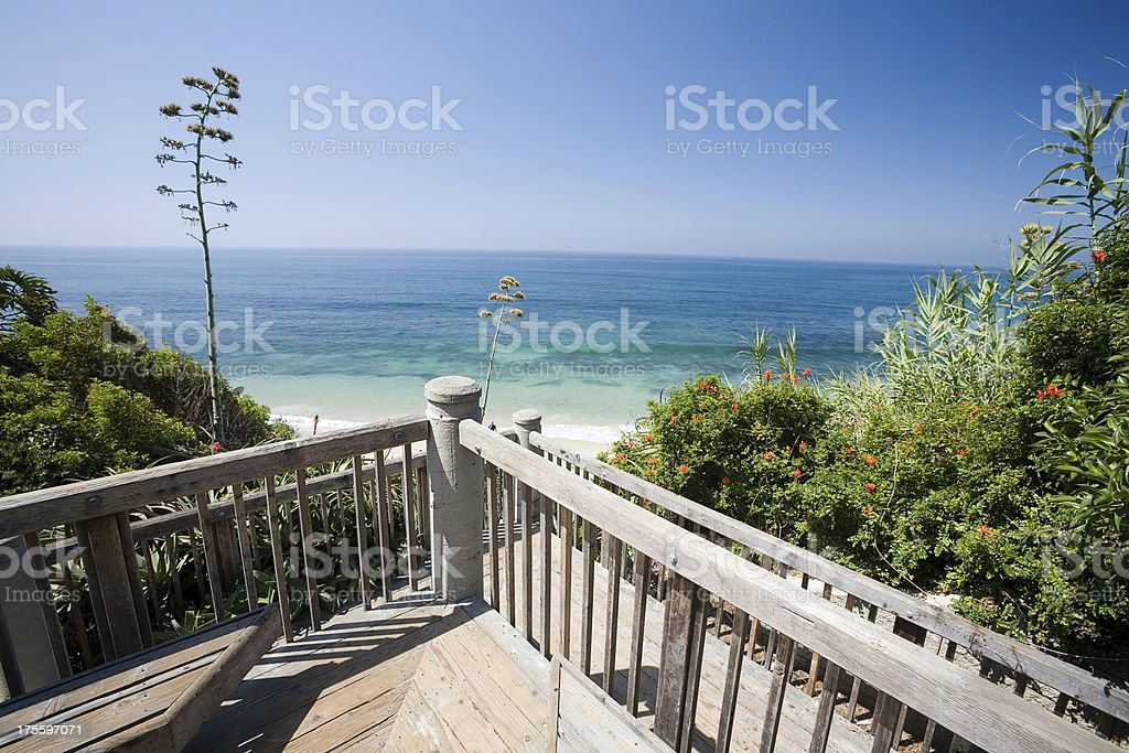 Pacific Ocean Balcony royalty-free stock photo