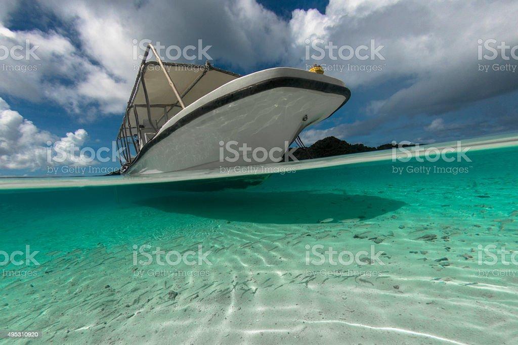 Pacific Ocean - Palau, Micronesia stock photo