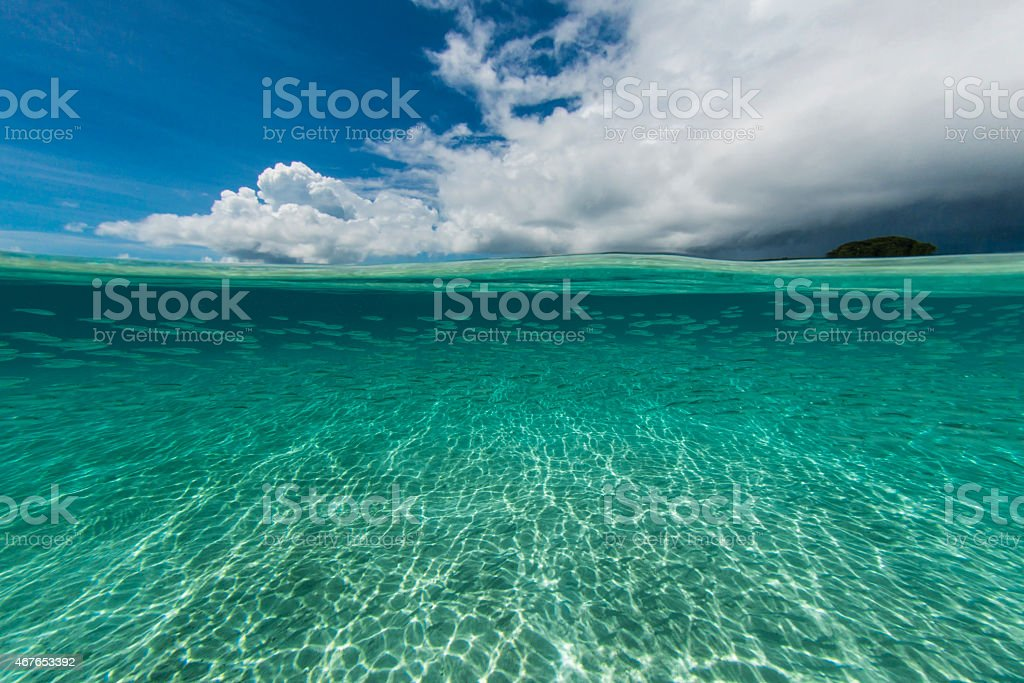 Pacific Ocean stock photo