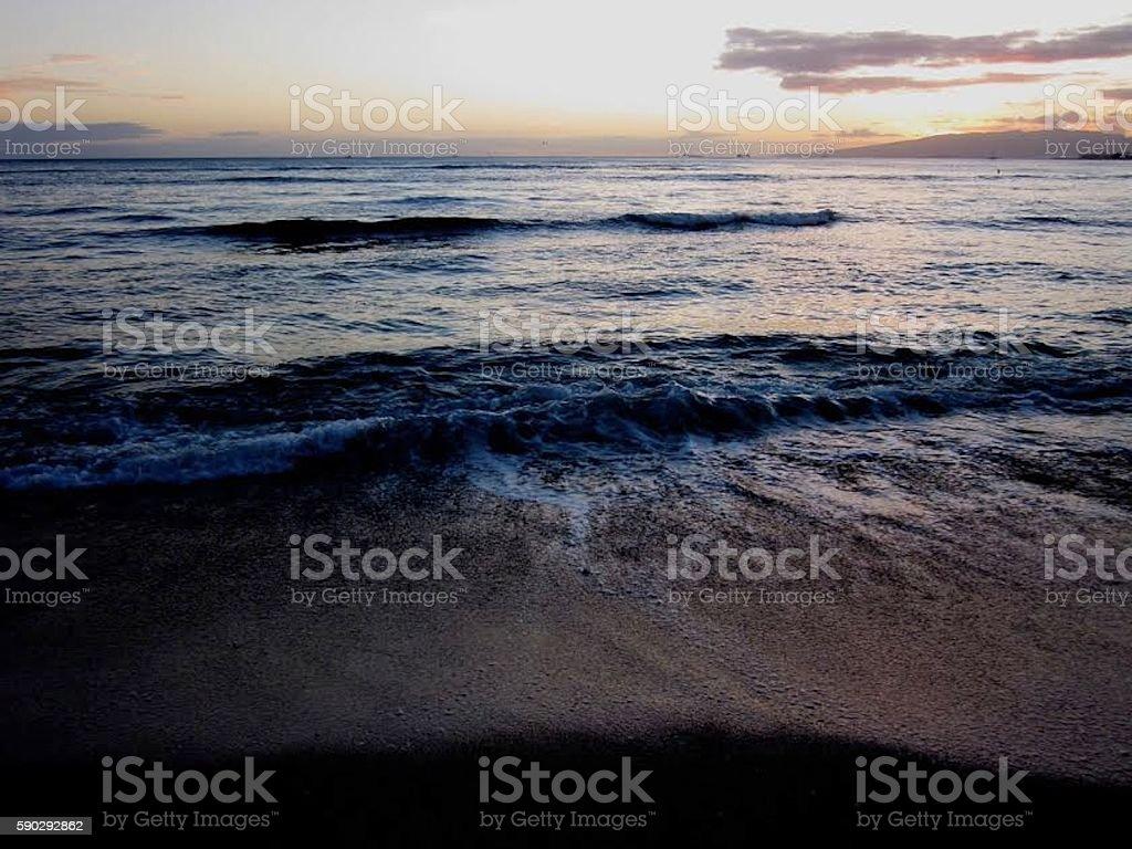 Pacific Ocean royaltyfri bildbanksbilder