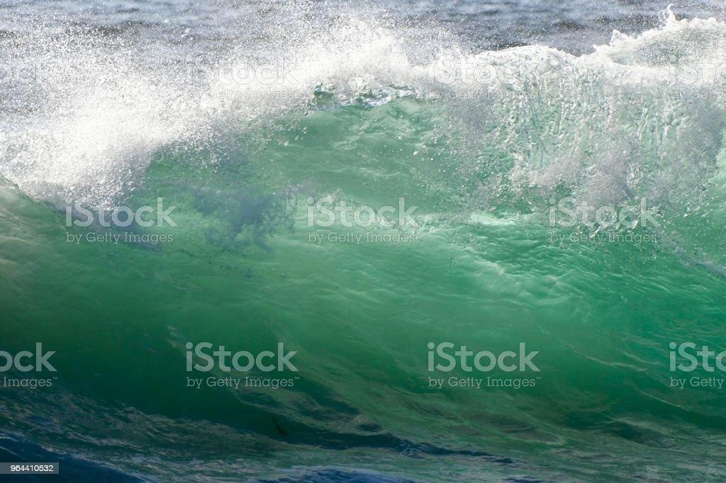 Stille Oceaan golven - Royalty-free Branding Stockfoto