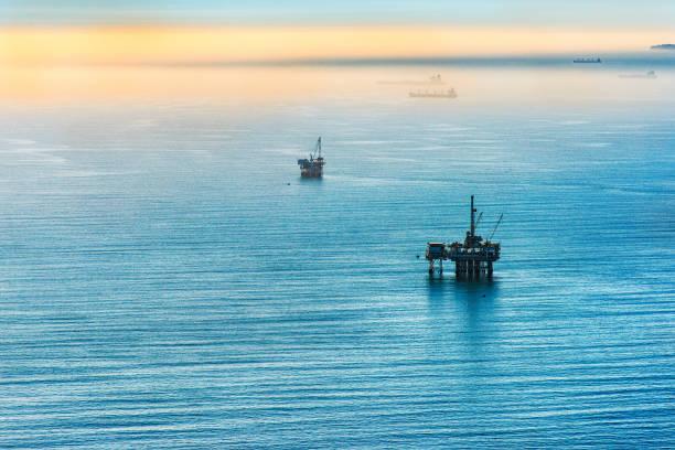 Pacific Offshore-Ölplattformen – Foto