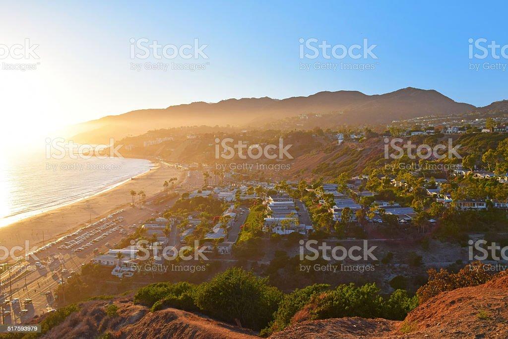 Pacific Palisades stock photo