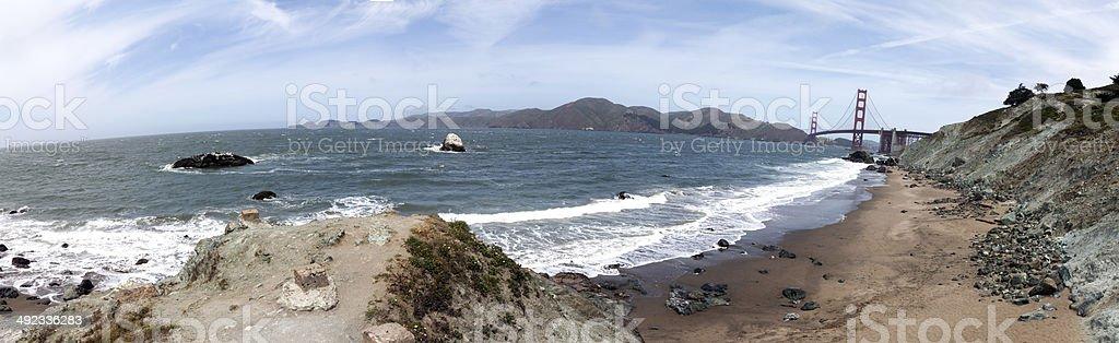 Pacific Panorama royalty-free stock photo