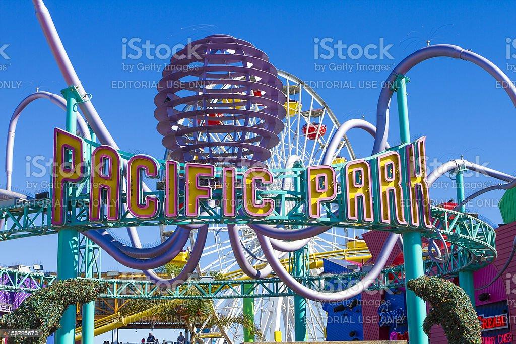 Pacific Park Santa Monica royalty-free stock photo