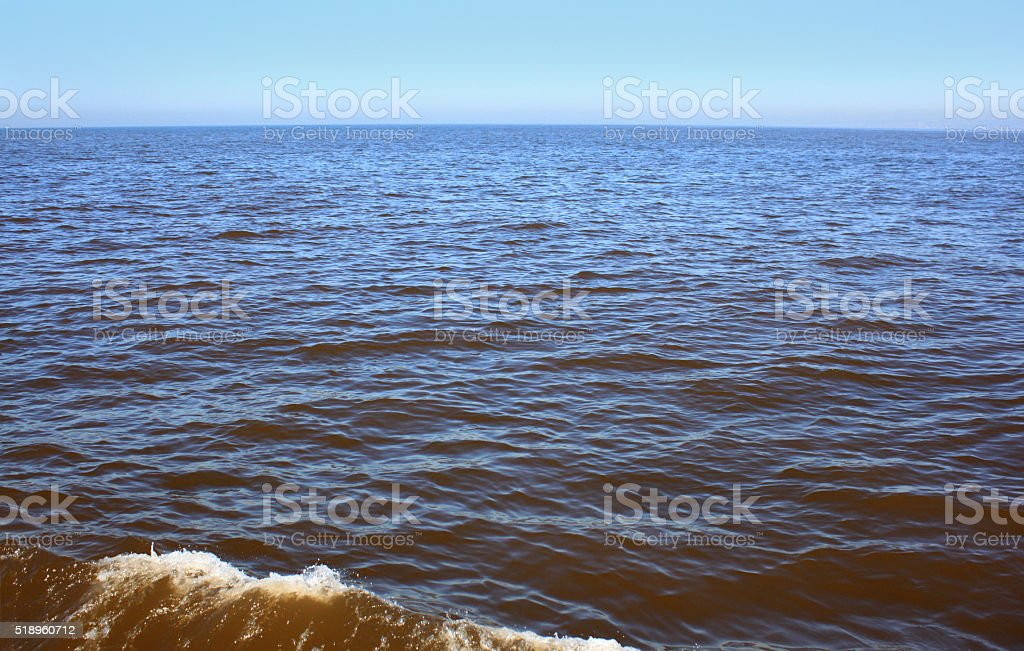 Pacific Red Tide stock photo