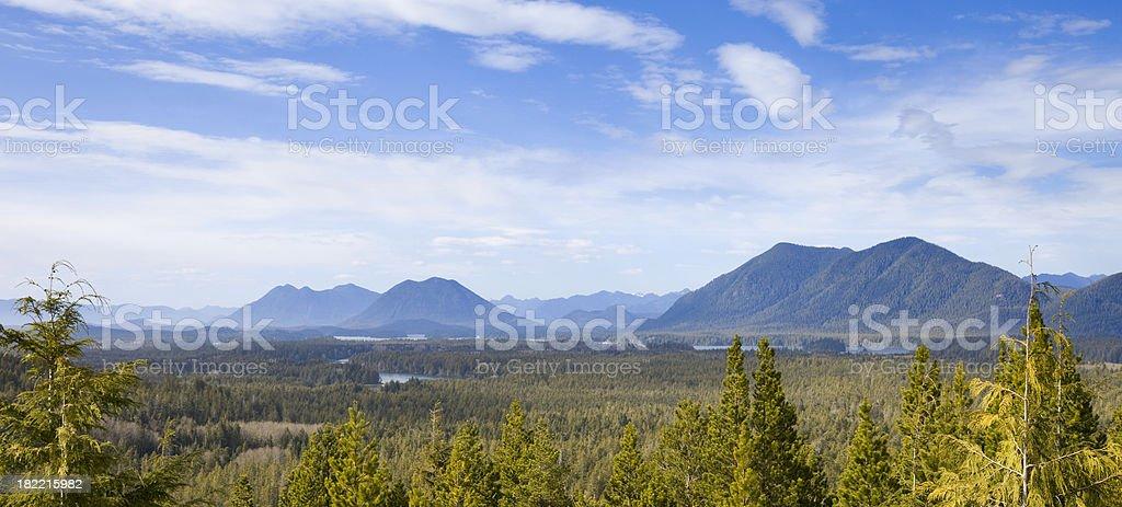 Pacific Rim National Park near Tofino, Vancouver Island, Canada stock photo