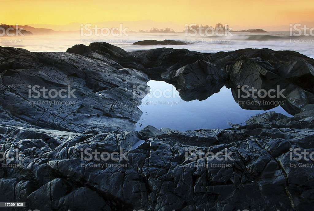 Pacific Rim National Park royalty-free stock photo