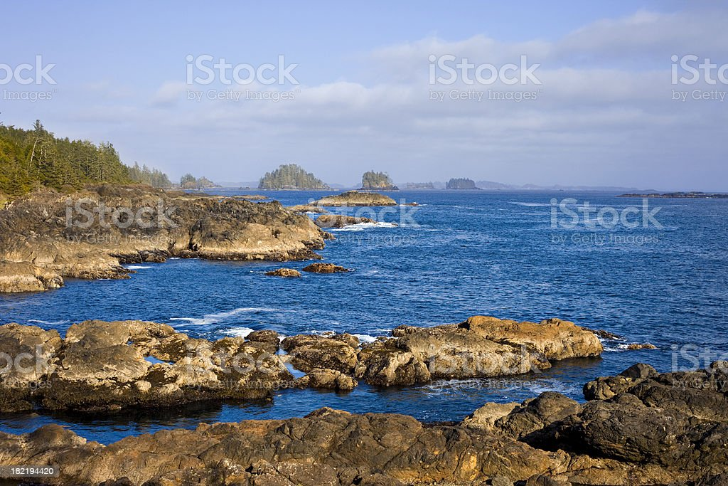 Pacific Rim National Park Vancouver Island Canada stock photo