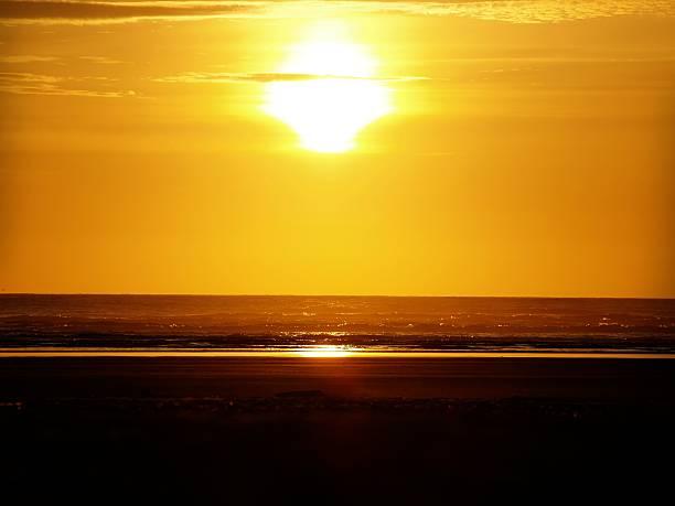 Pacific Sonnenuntergang – Foto