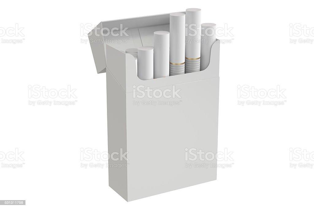 Fotografía de Paquete De Cigarrillos 3d Imagen y más banco de ...