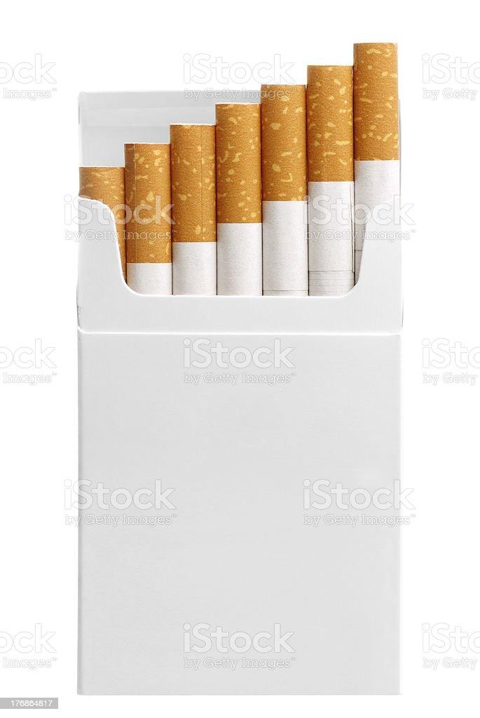 box of cigarettes