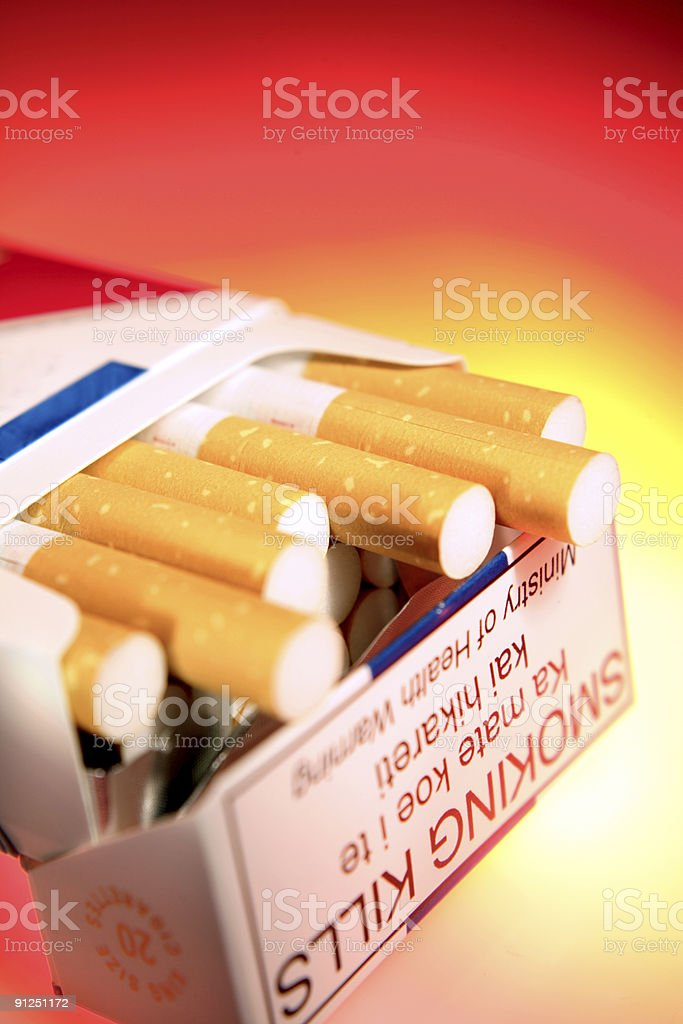 Paquet de cigarettes - Photo