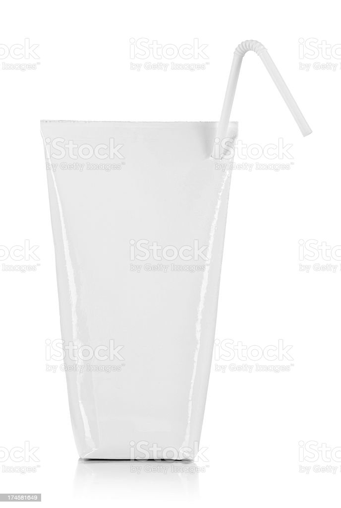 Pack of drink stock photo