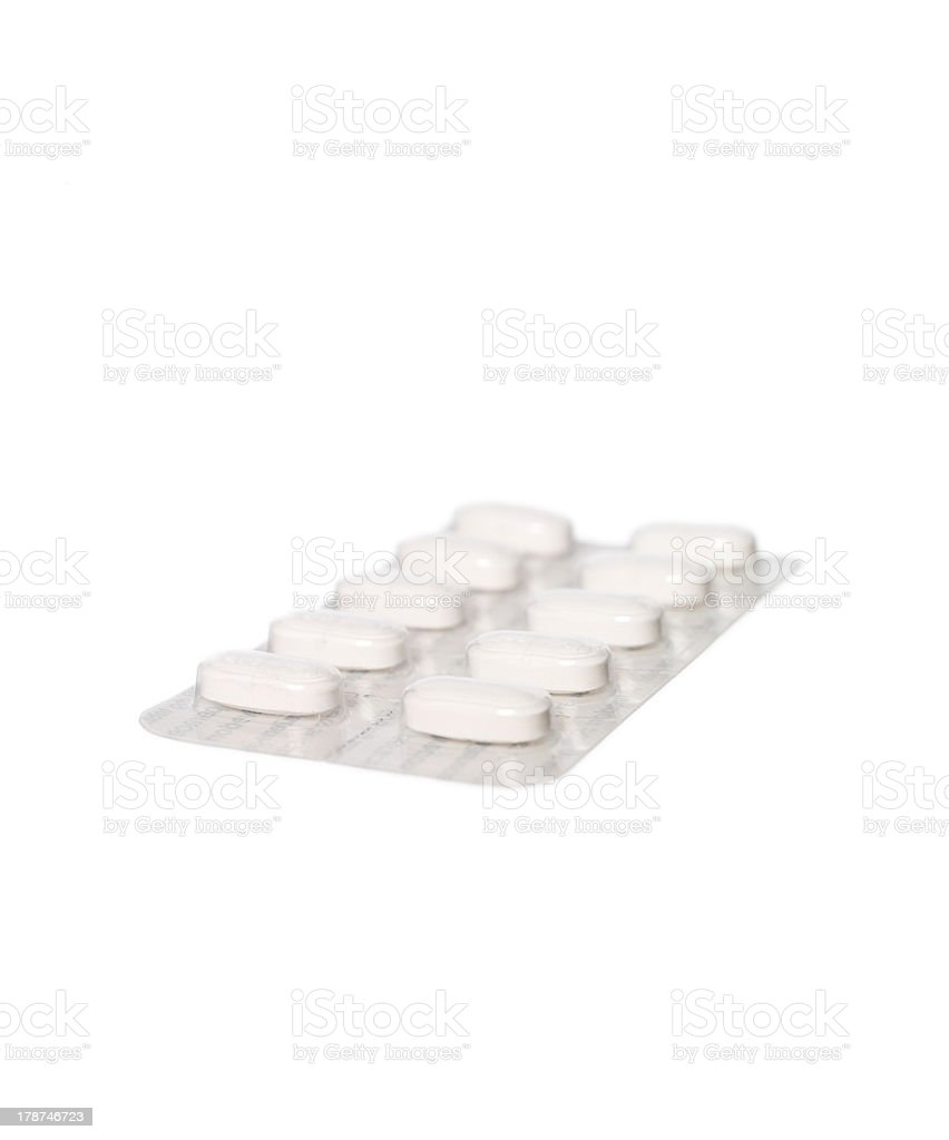 Pack of pills stock photo
