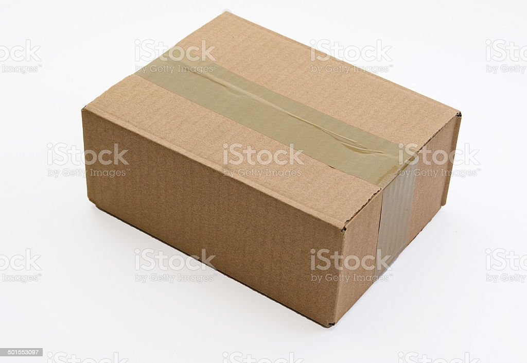 Package Cut stock photo
