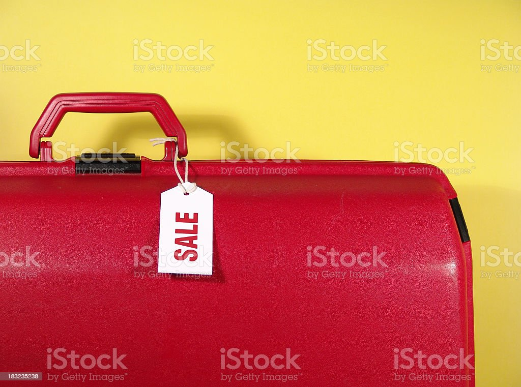 Package Deal Suitcase stock photo