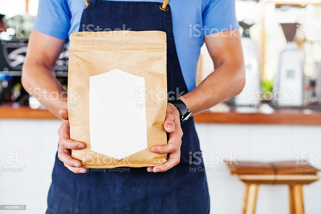 Package design template stock photo