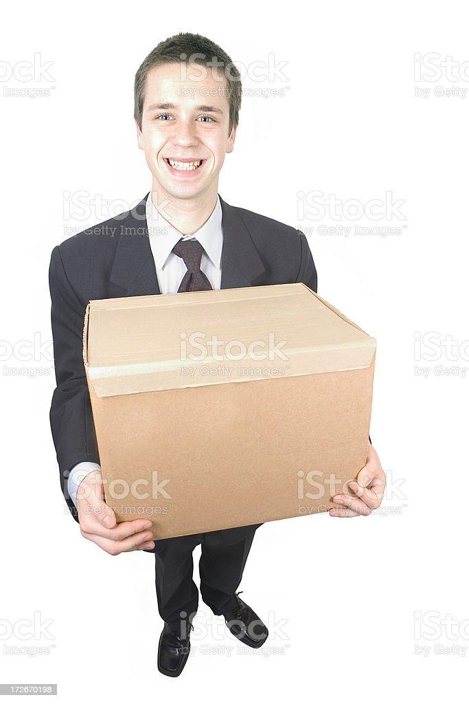 Package for You ! royalty-free stock photo