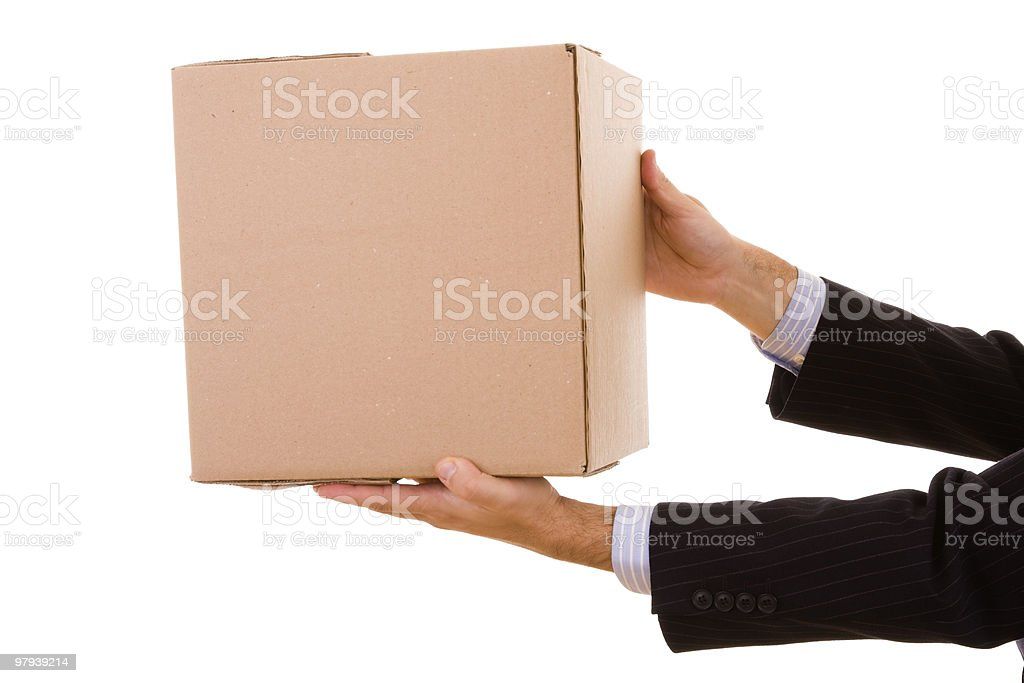 package parcel royalty-free stock photo