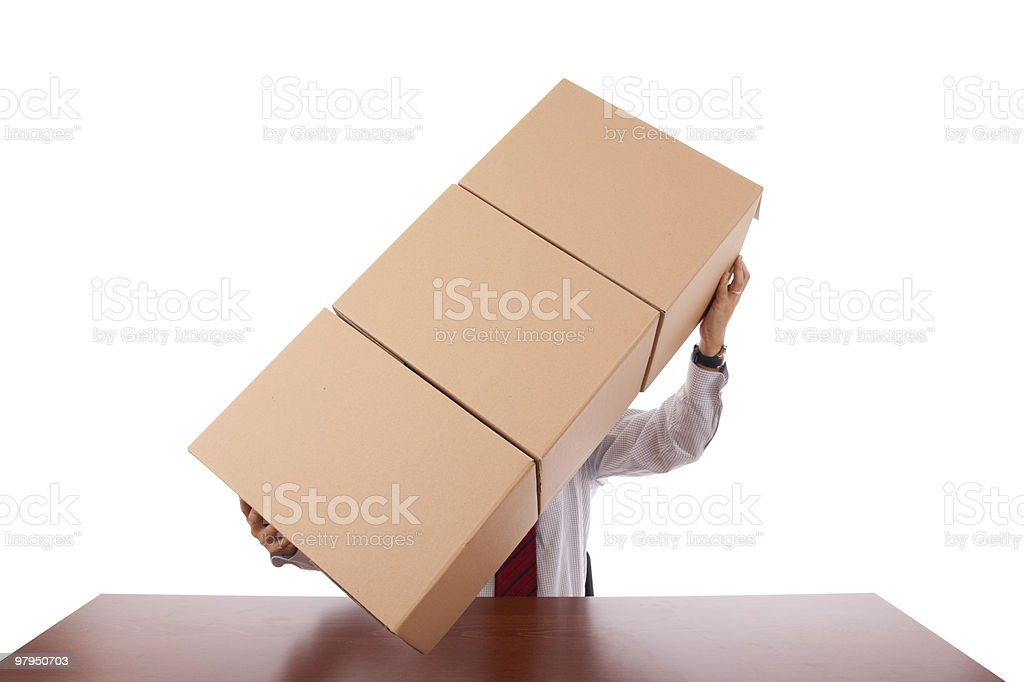 Package service royalty-free stock photo