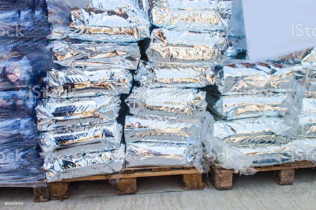 package silver background unit isolate