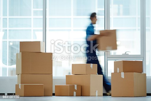 istock Packages with supplies 944137720