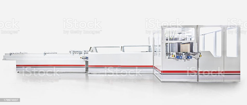 Packaging machine royalty-free stock photo